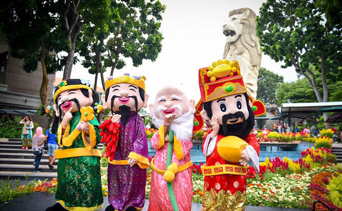 Sentosa Rooster Chinese New Year 2017