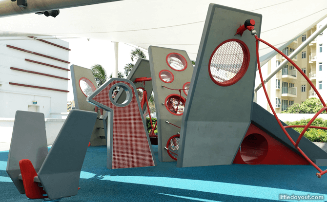 Free Shopping Mall Playgrounds In Singapore