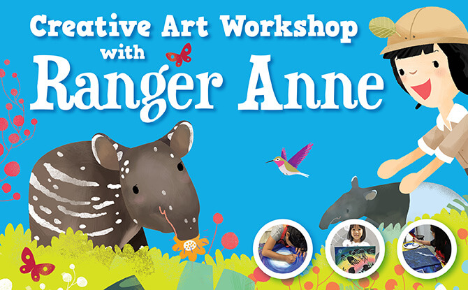 Creative Art Workshop with Ranger Anne: 24 March 2018