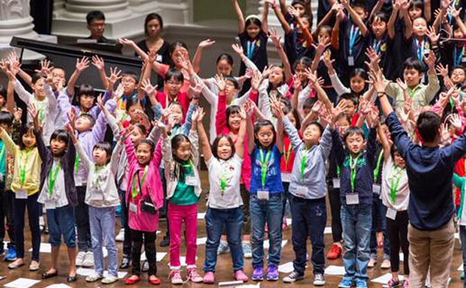 Singapore Symphony Children's Choir Experience 2016