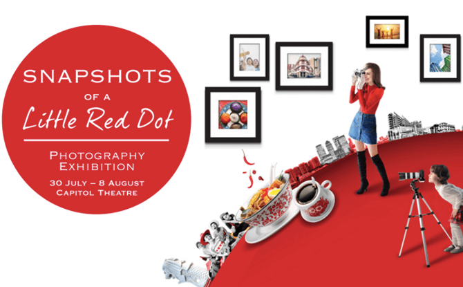 Snapshots of A Little Red Dot Photography Exhibition