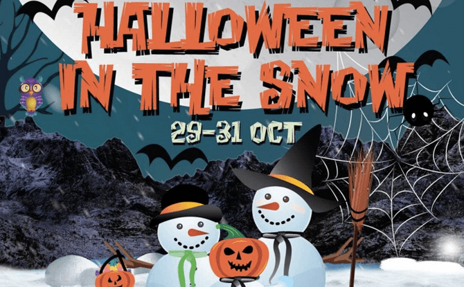 Snow City – Halloween in the Snow