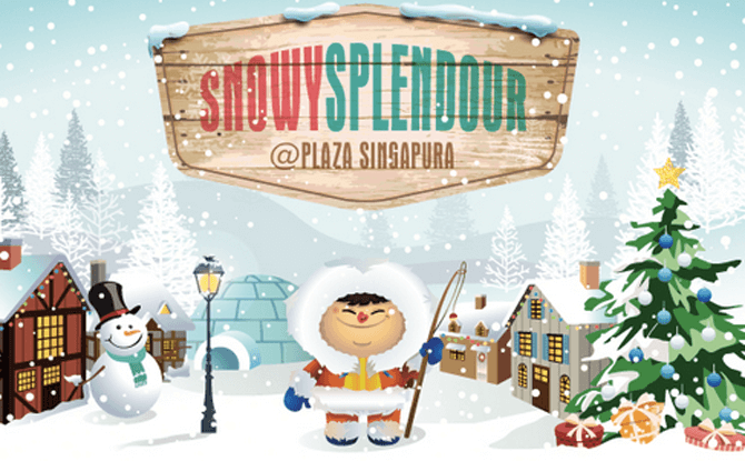 Snowy Splendour at Plaza Singapura