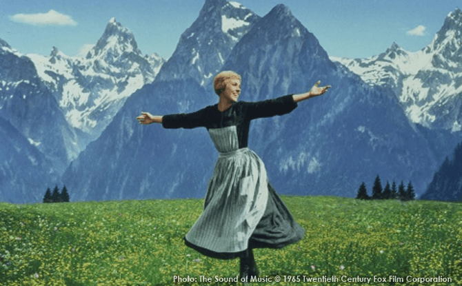 "A Singapore Botanic Gardens Movie : ""The Sound of Music"" organized by National Cancer Centre Singapore"