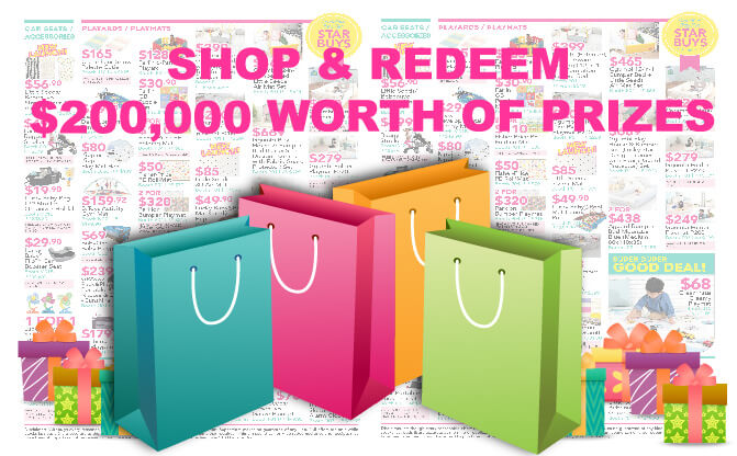 SuperMom - End August 2018: Spend & Redeem