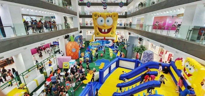 Spongebob at Paradigm Mall JB