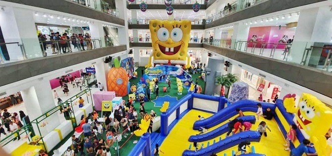 Spongebob Paradigm Mall 1