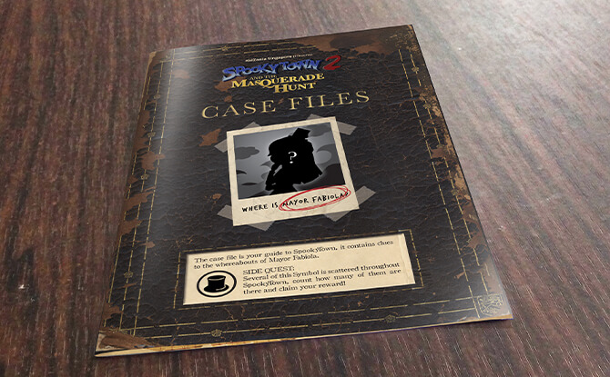 The Spooky Case Files at SpookyTown 2, KidZania Singapore