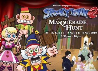 KidZania SpookyTown2: The Masquerade Hunt
