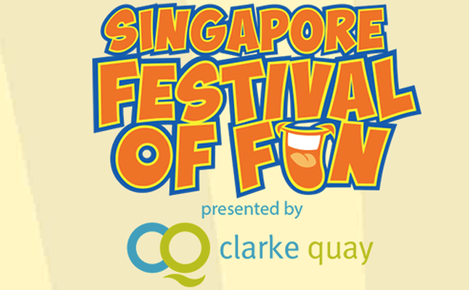 Clarke Quay Singapore Festival of Fun