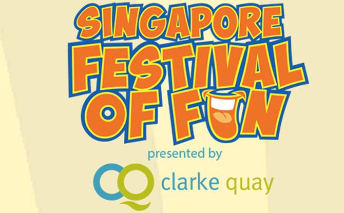 Clarke Quay Singapore Festival of Fun