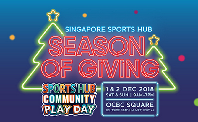Sports Hub Community Play Day: Season of Giving