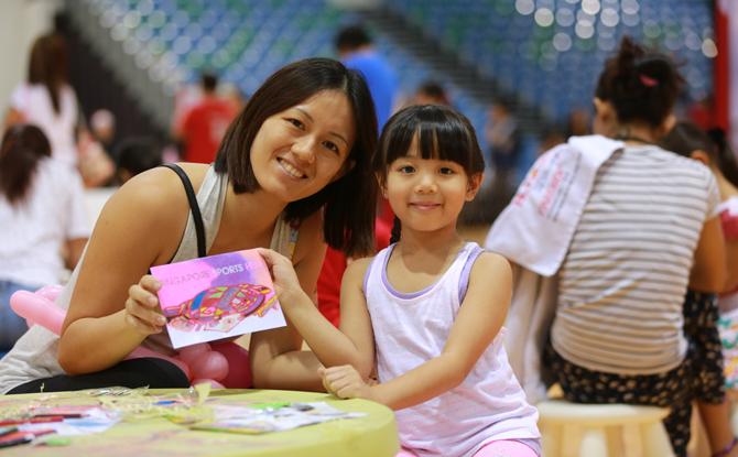 Singapore Sports Hub Season of Giving