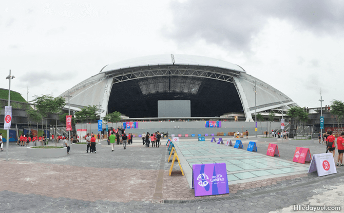 Singapore Sports Hub Is Reopening. Here's What's Open And What's Not.
