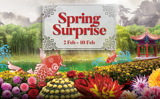 Spring Surprise - Chinese New Year 2019 Events In Singapore