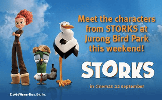 STORKS Characters Meet and Greet