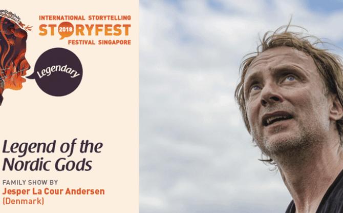 StoryFest 2018: Legend of The Nordic Gods