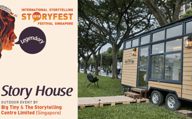 StoryFest 2018: Story House with The Storytelling Centre Limited