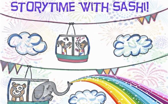 Storytime with Sashi!