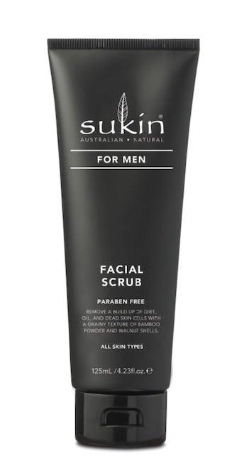 Sukin Men Facial Scrub