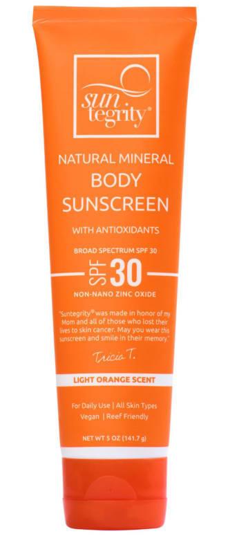 Suntegrity Natural Mineral Body Sunscreen