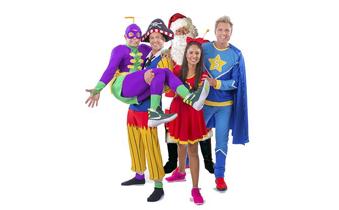 Super Santa Show Superdudes