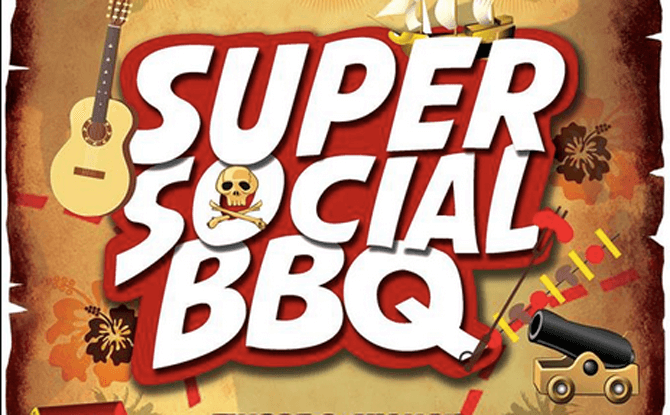 Super Social BBQ Pirates Edition