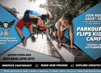 Superfly Parkour / Learn 2 Flip Holiday Camps