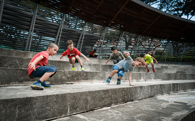 Superfly Kids Movement Camp X and Parkour Camps