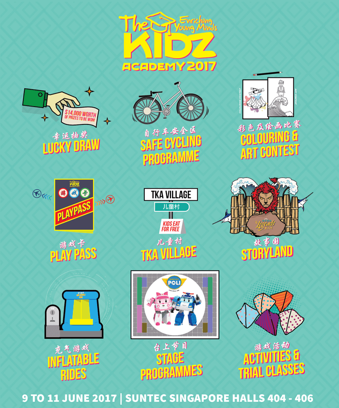 Things to Do at The Kidz Academy 2017