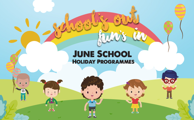SAFRA Tampines June School Holiday Programmes
