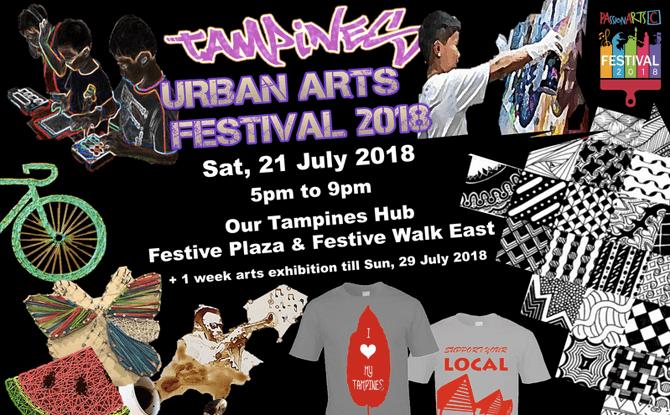 Tampines Urban Arts Festival 2018