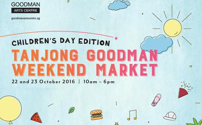Tanjong Goodman Weekend Market Children's Day Edition