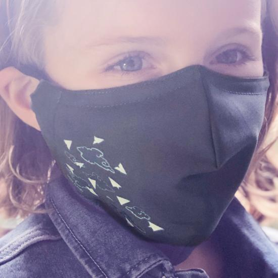 The Art Faculty face mask