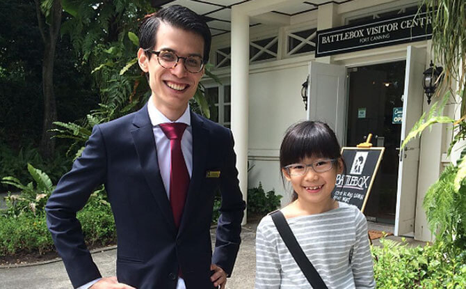 Fort Canning Park: Exploring The Battlebox During the Holidays