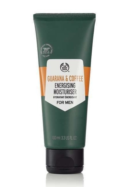 The Body Shop Guarana and Coffee Energising Moisturiser For Men