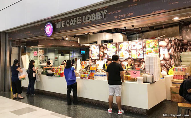 The Café Lobby