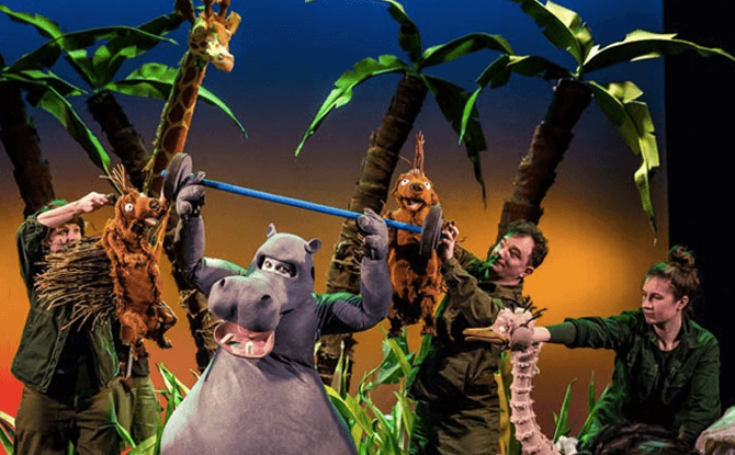 David Walliams Presents The First Hippo On the Moon