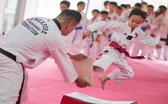 The Grand Camp 2019 taekwondo