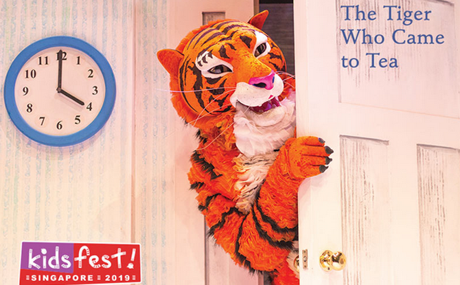 The Tiger Who Came to Tea 1