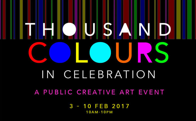 Thousand Colours in Celebration