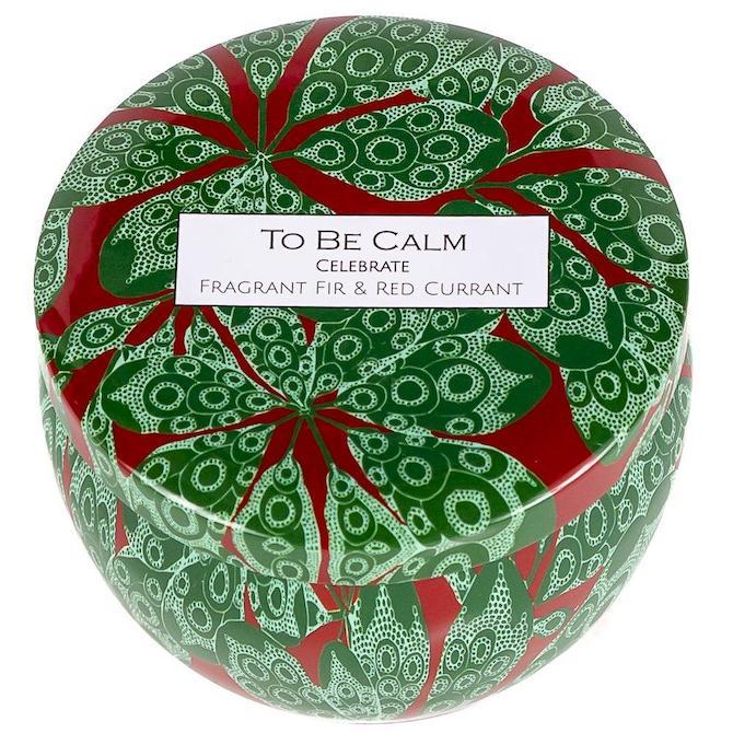 To Be Calm Celebrate Mini Candle