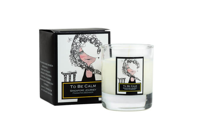 To Be Calm Singapore Journey Candle $37, from tobecalmgroup.com
