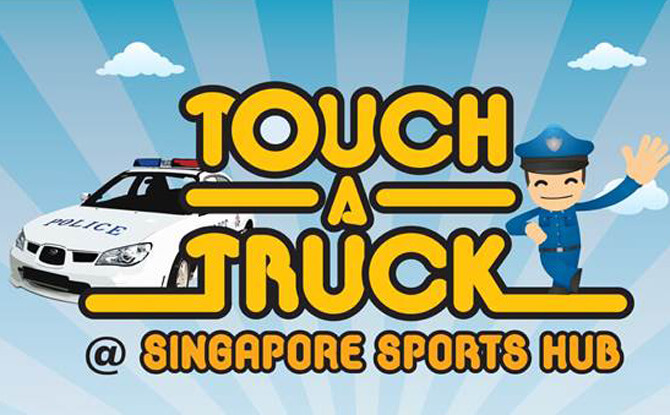 Touch-A-Truck @ Singapore Sports Hub