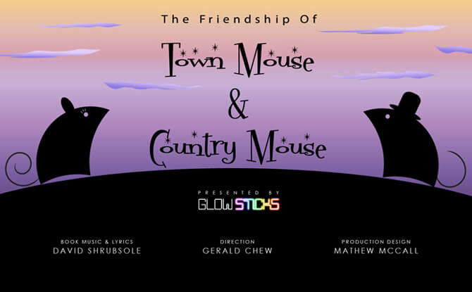 The Friendship of Town Mouse & Country Mouse
