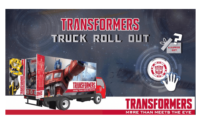 Transformers Truck Roll Out