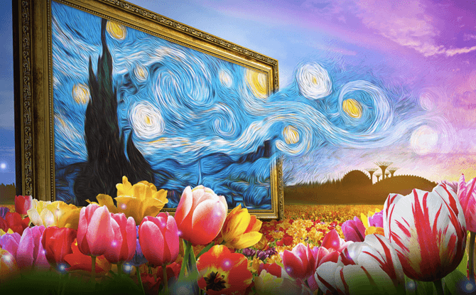 Tulipmania Inspired 1