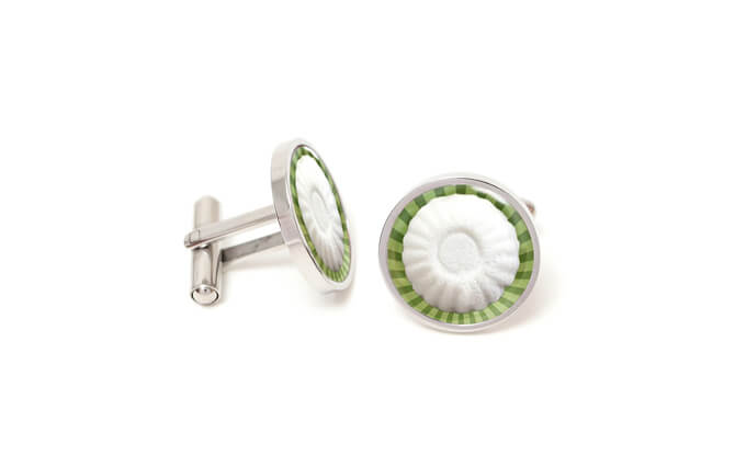 Tutu Kueh Cufflinks $28.90, from thelittlelink.com