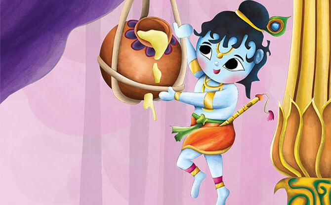 Utterly, Butter-ly Stories of Krishna