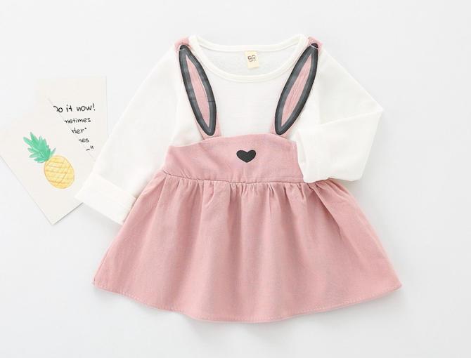 Baby Clothing Rabbit Dress